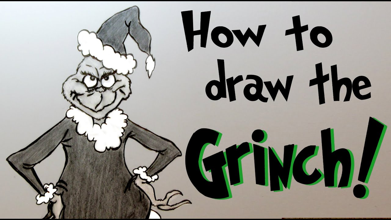 mr Grinch Drawing ep 133 How to Draw mr Grinch