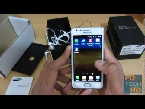 Samsung Galaxy S II Unboxing and First Look!