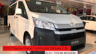 ALL NEW 2019 TOYOTA HIACE COMMUTER DELUXE 2.8L    FULL TOUR REVIEW