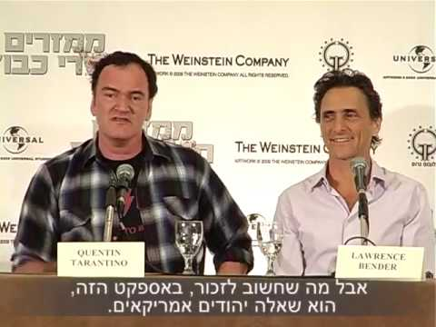Quentin Tarantino Press Conference (Israel Sep 09)