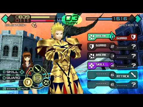 Fate Extra Ccc Gilgamesh vs