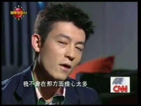 Edison @ CNN interview 1/3 (全無刪剪版 + 中文字幕) 3.6.09