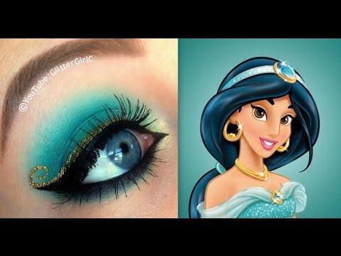 make up návod, líčenie návod, ako byť krásna, líčenie očí, očné tiene, dievčenské veci, princeznovský make up, princeznovské líčenie, Jasmína aladin