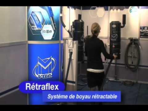 Système de boyau retractable Retraflex Mvac