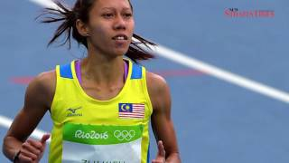Zaidatul Husniah smashes 100m national record in S. Africa