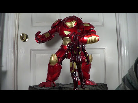 Ironman HULKBUSTER Suit Armour Comiquette Statue from Sideshow Collectibles