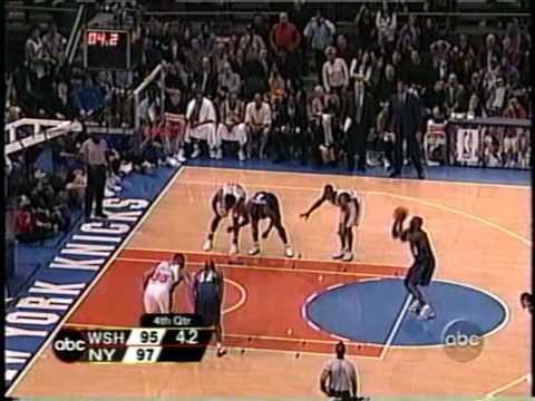 MICHAEL JORDAN: 39 pts vs New York Knicks ( 2003 - LAST APPEARANCE IN MSG ) HD