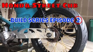 Honda Street Cub build series Episode 2