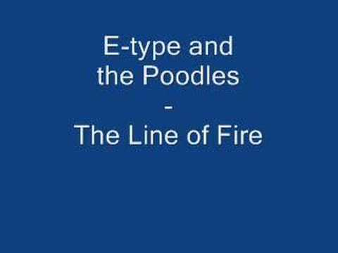 The Poodles - Line Of Fire