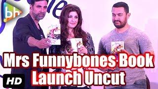 Event Uncut: Launch Of 'Mrs Funnybones' Book | Twinkle Khanna | Aamir Khan | Akshay Kumar