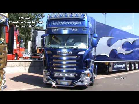 18° Raduno coast to coast truck team - 3 Scania Valcarenghi -