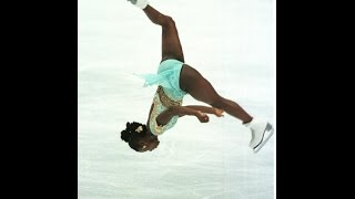 Surya Bonaly's  AMAZING Backflips