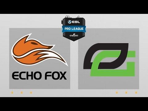 CS:GO - EchoFox Vs. OpTic [Train] Map 2 - ESL Pro League Season 4 - NA Matchday 18