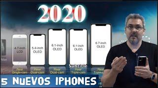 5 iPhone para este 2020 - Resumen de NOTICIAS TECH