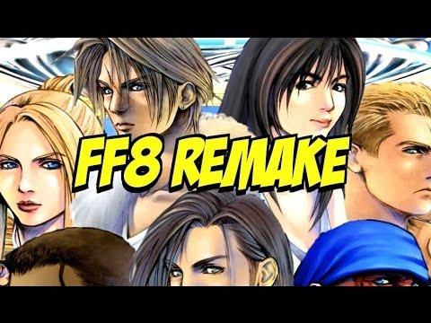 Final Fantasy Viii Remake Ps4 Final Fantasy 8 Remake on Ps4