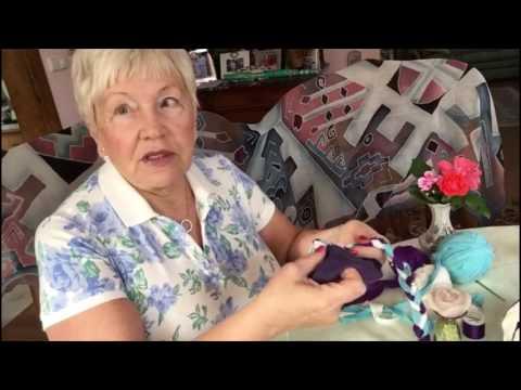Плетем коврик для домашних животных из ненужных вещей