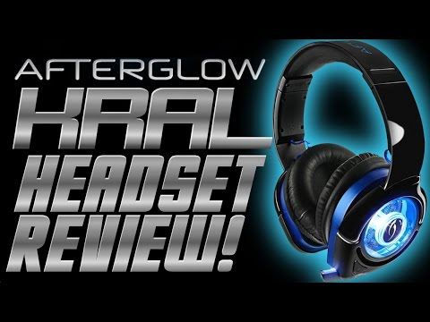 Afterglow KRAL Wireless Headset Review and Unboxing - PS4 Headset Reviews