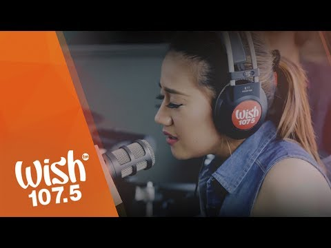 """Morissette covers """"Against All Odds"""" (Mariah Carey) on Wish 107.5 Bus"""