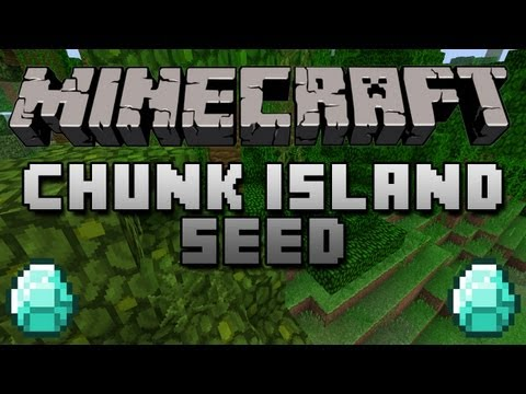 ★ Minecraft 1.3.2 Seed Review - 2 Chunk Island!