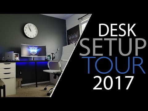 2017 Desk Setup and Room Tour | U Droid Mania