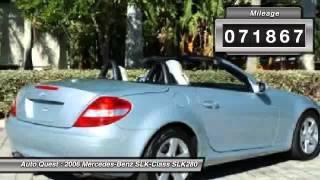 2006 Mercedes-Benz SLK-Class SLK280 Fort Myers Beach FL 33931