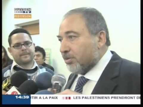 Israël Démission de Avigdor Lieberman ministre raciste d'extrême droite associé à Netanyahou