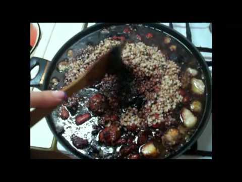 Как приготовить кровяную колбасу - видео