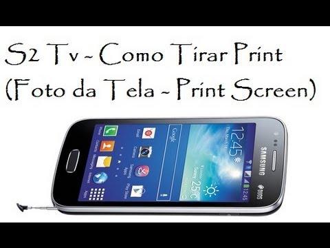 S2 Tv - Como Tirar Print (Foto da Tela / DavidTecNew) / Brasil