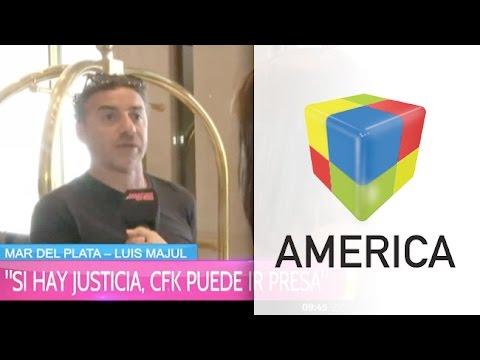 """Luis Majul: """"Víctor Hugo tiene una triple moral"""""""