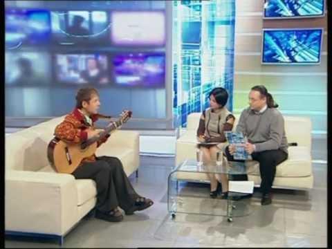 Гитарист Дидюля в гостях у программы Реальное Время
