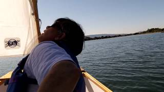 Dinghy sailing at Shoreline Park, Mt. View, CA