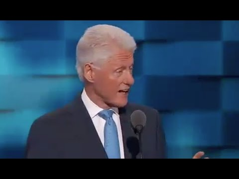 HE'S ELECTRIC! Full Bill Clinton Speech - Democratic National Convention