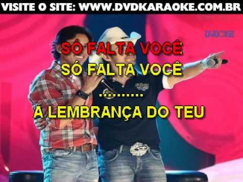 Guilherme & Santiago   Só Falta Você