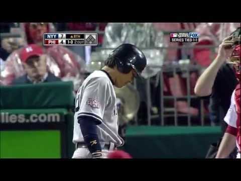 2009/10/31 松井秀喜 ワールドシリーズ 第3戦 代打ホームラン