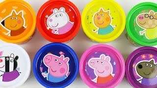 Peppa Pig Play Doh Surprise Eggs Tom and Jerry disney Cars Frozen Hello Kitty
