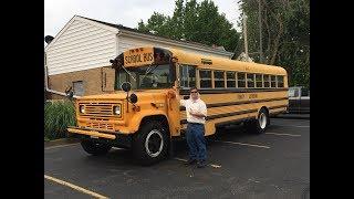 Picking Up The 1988 Chevy B60 Thomas School Bus Road Trip
