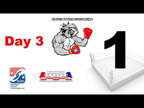EUBC European Youth Boxing Championships - Zagreb 2014 - Day 3 - Session 6