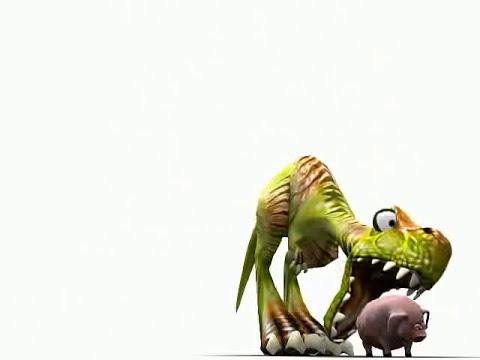 El Dinosaurio y el Puerco.