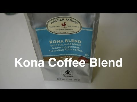 kona coffee blend from the hawaiian isles by archer farms. Black Bedroom Furniture Sets. Home Design Ideas