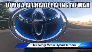 Alphard Hybrid Executive Lounge 4x4 Four Wheel Drive with Bodykit Modelista