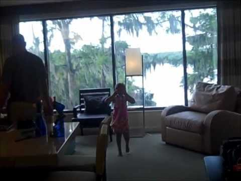 Tour of Bay Lake Tower's 1 Bedroom Villa 2013