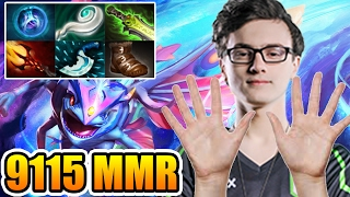 Miracle- Dota 2 [Puck] 10 Fingers Is Not Enough