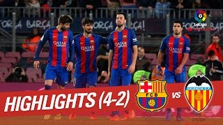 Download Resumen de FC Barcelona vs Valencia CF (4-2) 3Gp Mp4