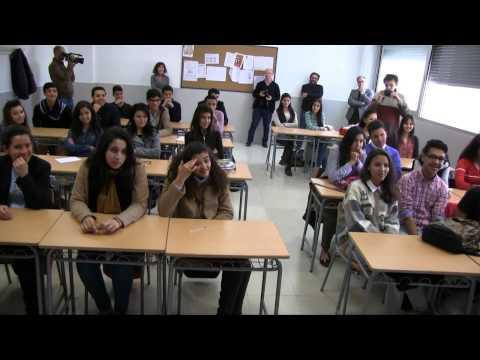 Visita Vicente Del Bosque Colegio E. Morillas de Melilla y López de Vega de Nador