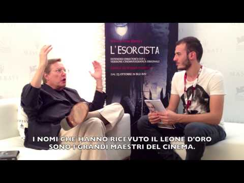 William Friedkin ci parla del Leone d'Oro, dell'Esorcista e di... Batman!
