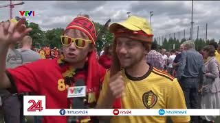 Người dân Bỉ sung sướng với chiến thắng của đội nhà tại Wolrd Cup - Tin Tức VTV24