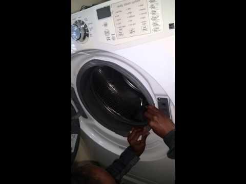washing machine makes buzzing noise not spinning