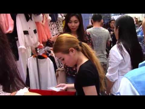 Shopping at Siam Square Bangkok