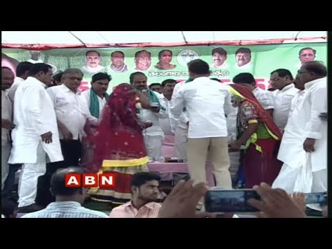Ministers Harish Rao and Thummala Nageswara Rao takes part in Rythu Bandhu Program