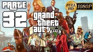 GTA V Grand Theft Auto 5 Español - Walkthrough Parte 32 [Misión Desenterrando el Pasado] Modo Historia GTA V Español Xbox360 PS3